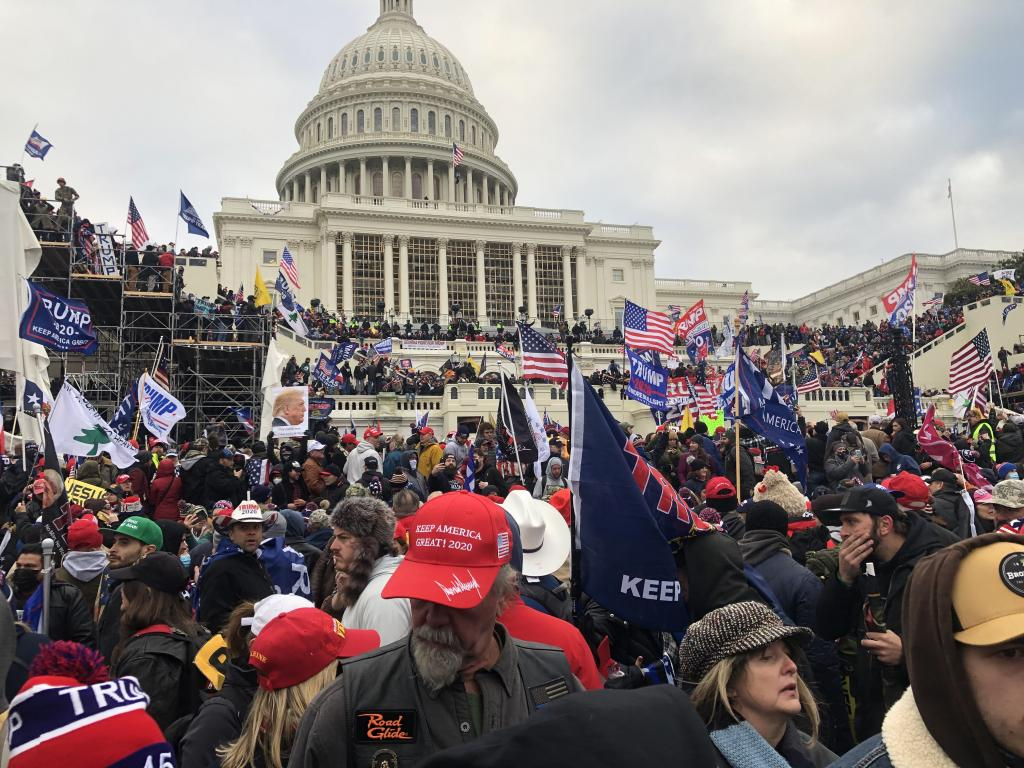 Dave Estenson of rural Coral City was more or less already in the neighborhood when he decided to witness history last Wednesday in Washington D.C. He came away jarred and with a shift in perception.