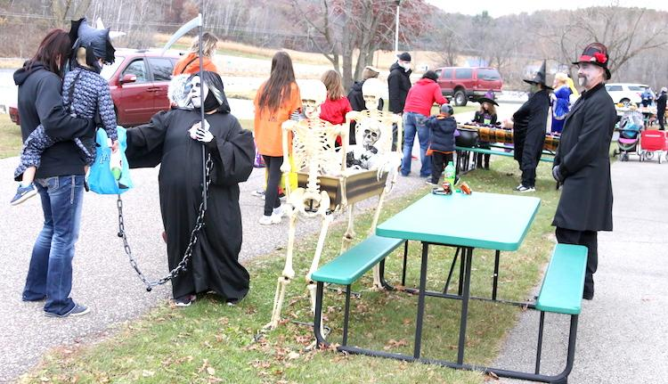 Area residents who are looking for a one-stop shop for trick-or-treating on Halloween night can hit up Riverside Memorial Park in Blair again this year.