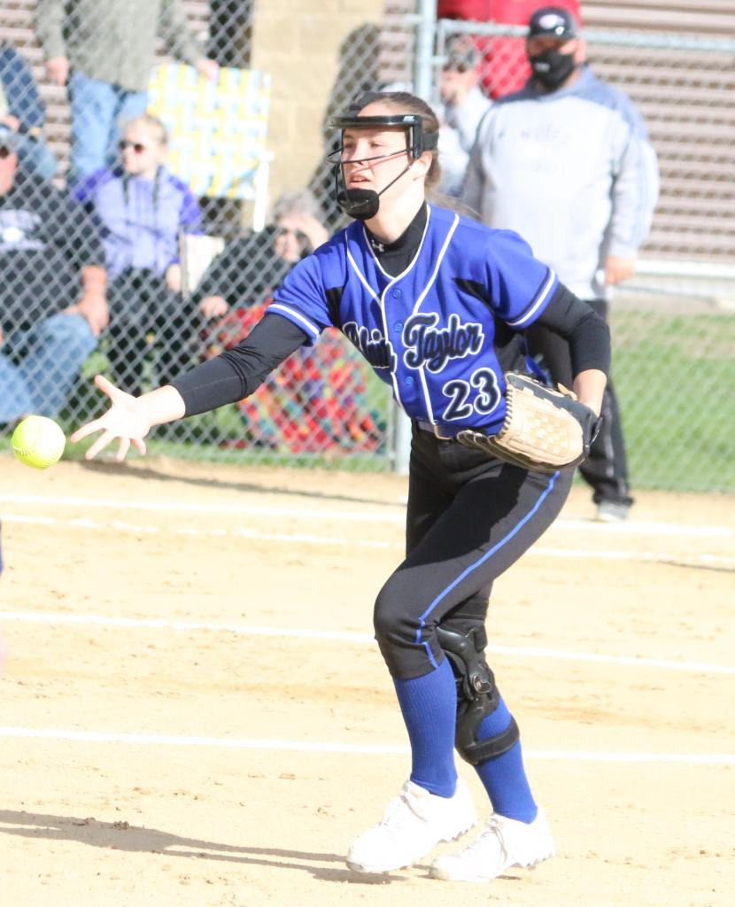 Blair-Taylor softball swept through a gauntlet of games last week, improving to 10-0 by winning seven contests in six days.