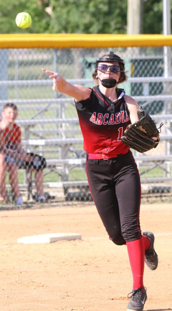 After a lopsided loss to end the regular season, the Arcadia softball team extended its postseason run with a win last week.