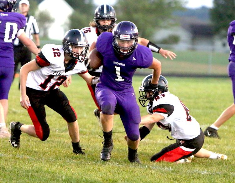 The Independence/Gilmanton football team had a chance to take the lead late, but their two-point conversion was stopped short and Cochrane-Fountain City put the game away shortly after.