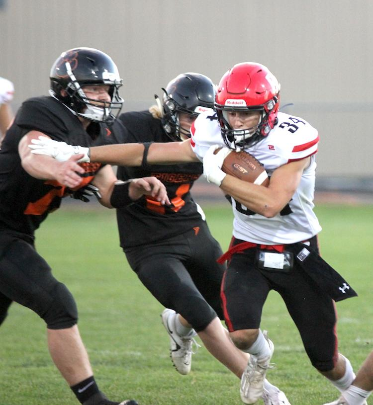 As the Arcadia High School football team lined up on a fourth-and-six late in their Coulee Conference game against Black River Falls last Friday, the host Tigers thought they had the Raiders figured out.